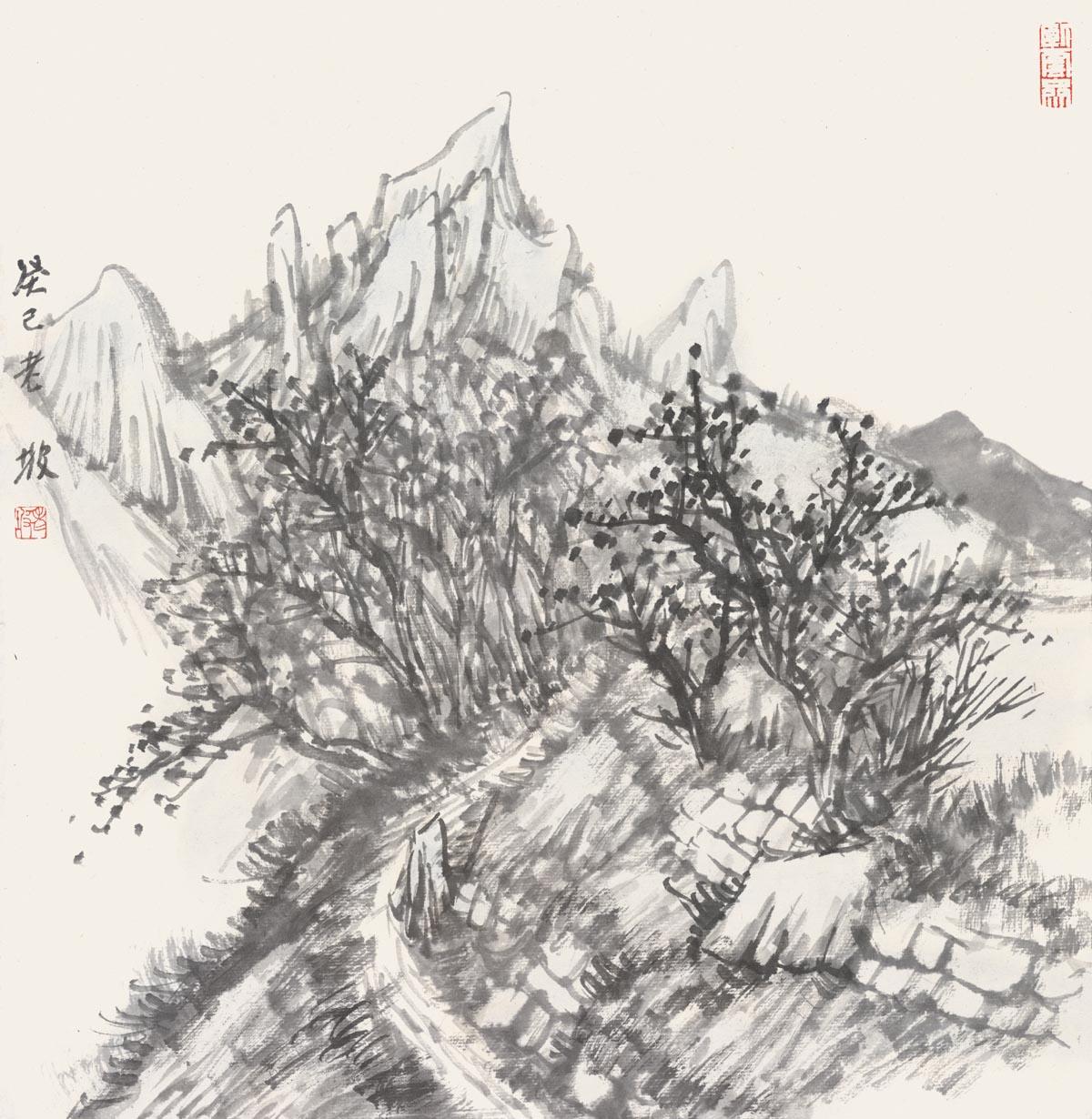 韩敬伟作品2013小品百幅之01