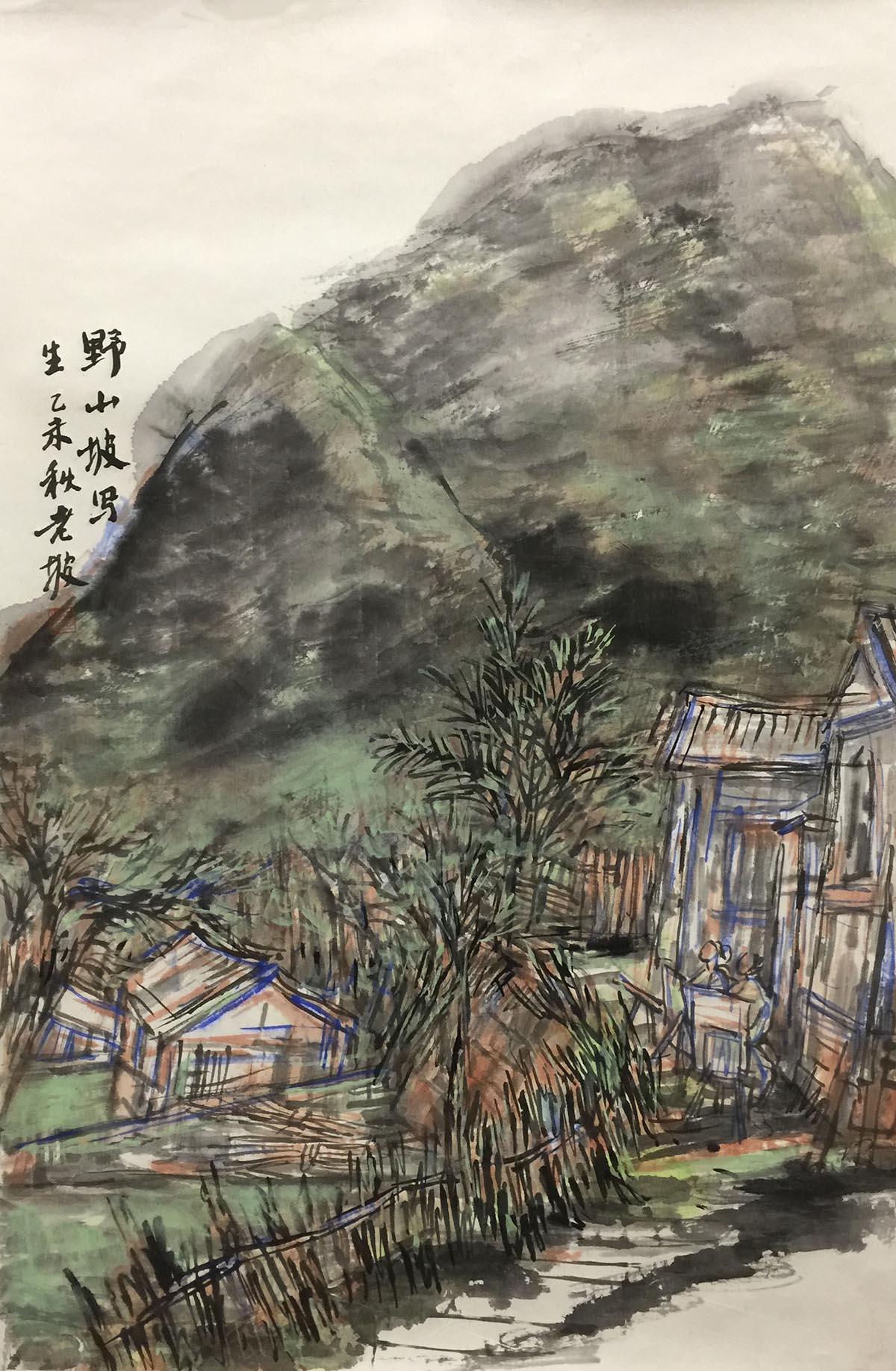 韩敬伟作品2015年写生03