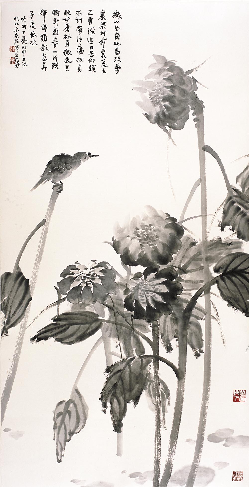 周逢俊作品吟向日葵
