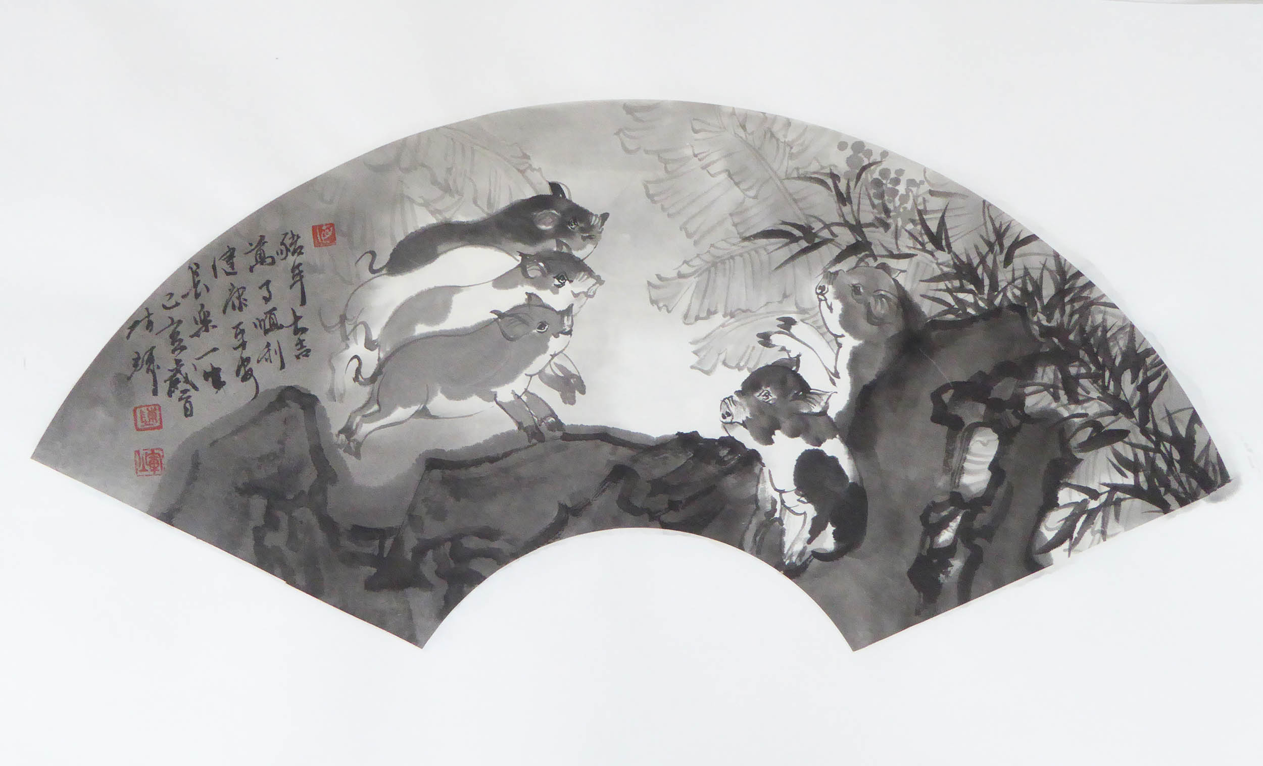 陈辉作品2019猪年吉祥09