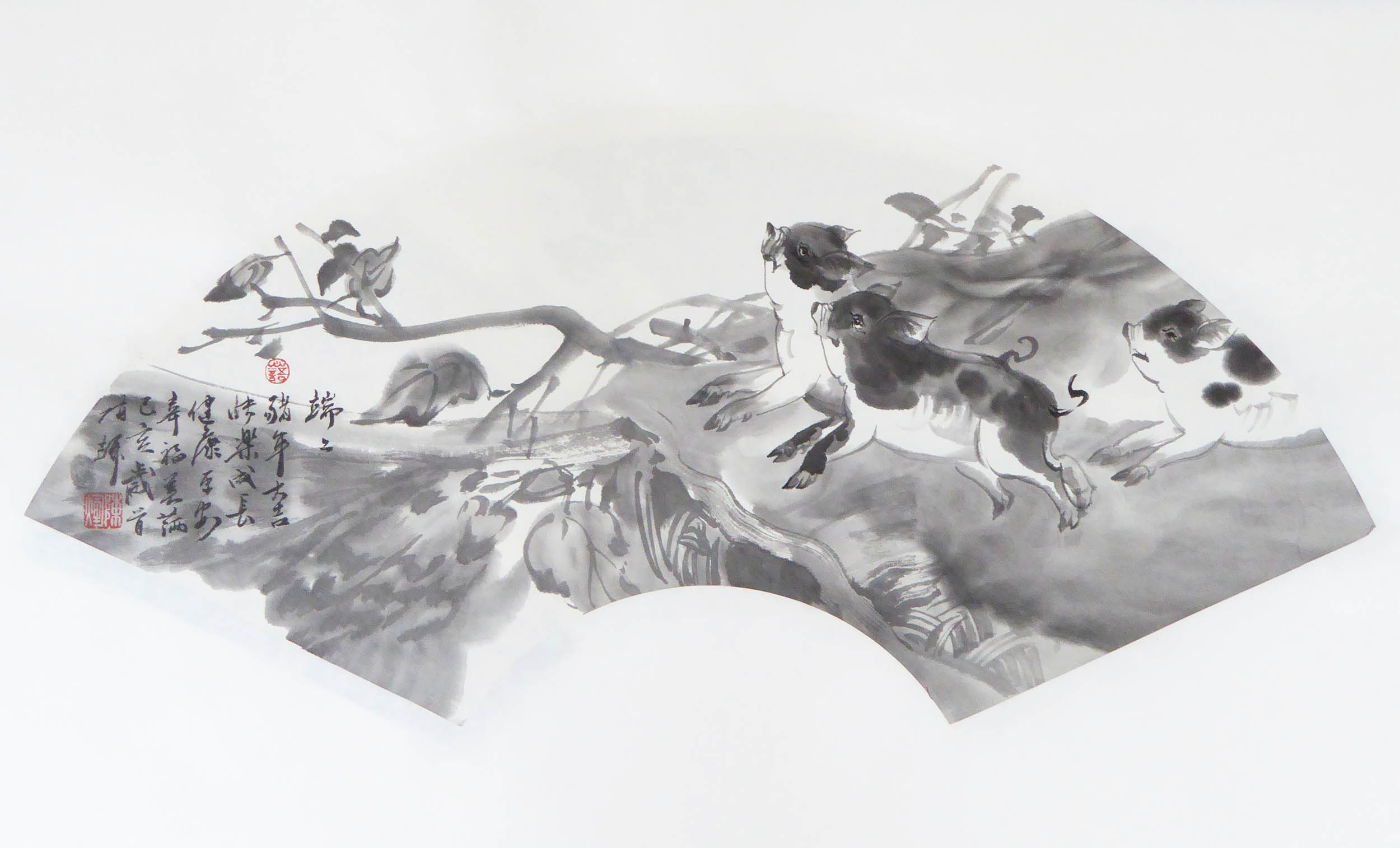 陈辉作品2019猪年吉祥02