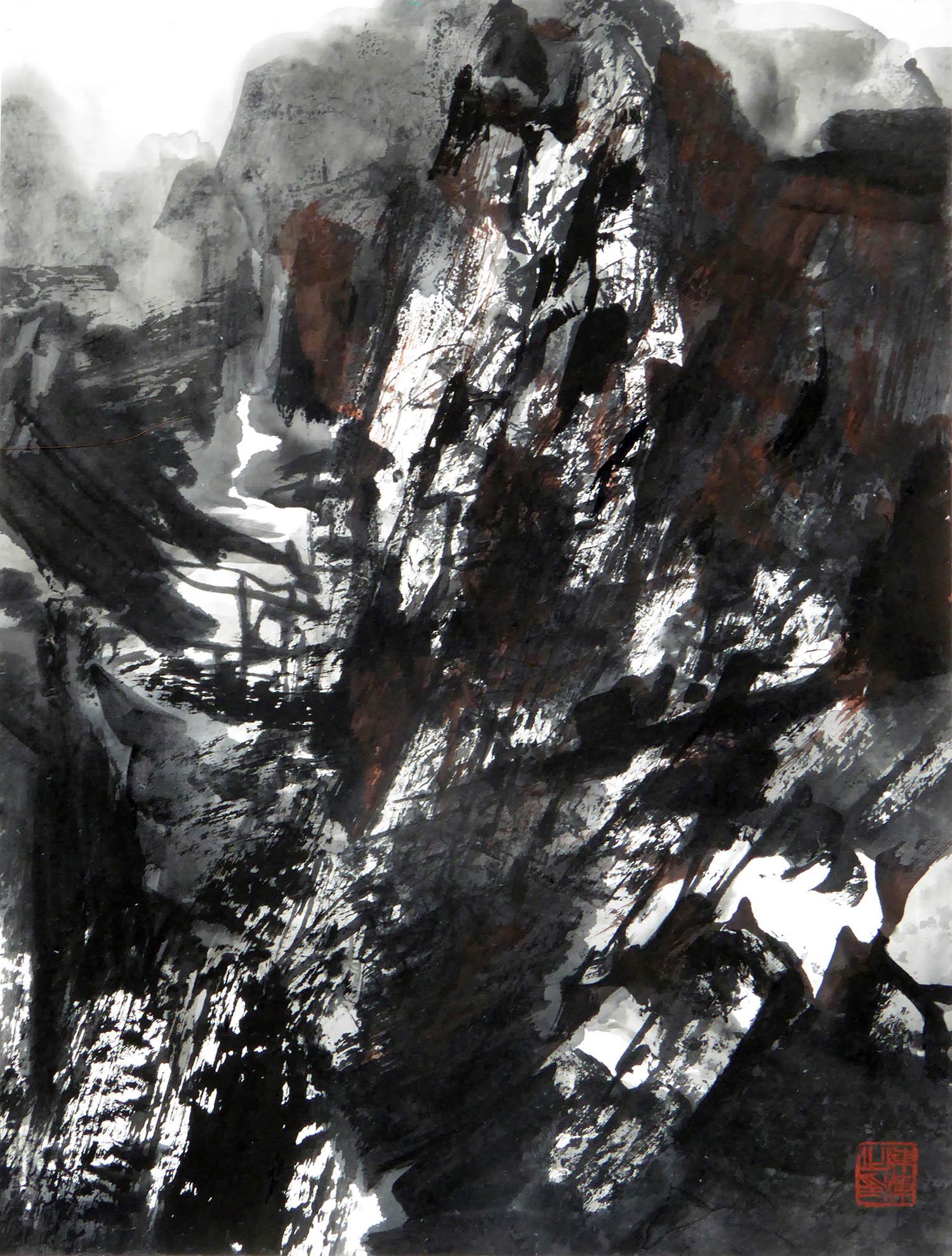 陈辉作品2019年抽象系列