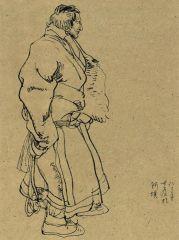 刘大为作品阿坝藏族牧人