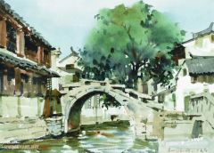 刘大为作品苏州周庄双桥