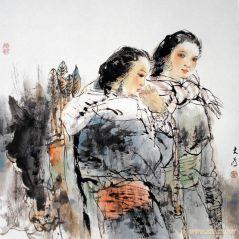 刘大为工作室作品乌珠穆沁少女