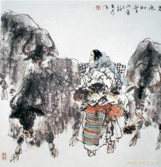 刘大为作品高原初雪