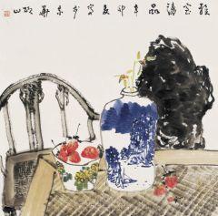 马硕山作品青花系列·雅