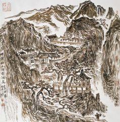 陈一耕作品2012山水写生系列五