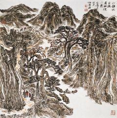 陈一耕作品2012山水写生系列三