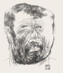 戴顺智作品肖像素描