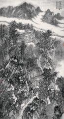 石峰作品家在云深处