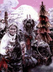 苗再新作品神山之祭―藏族
