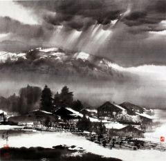 陈辉作品瑞士写生06