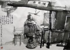 陈辉作品皖南小景05