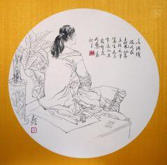 陈辉作品写生课示范07