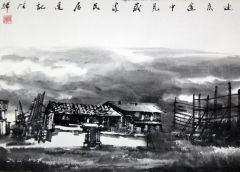 陈辉作品郦江写生15