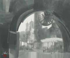 优乐娱乐官网作品拱门前的广场