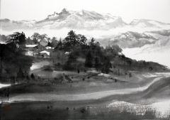 优乐娱乐官网作品通往马特洪峰的山路