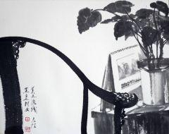 陈辉作品知白守黑