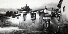 优乐娱乐官网作品画西藏04