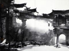 优乐娱乐官网作品皖南写生09