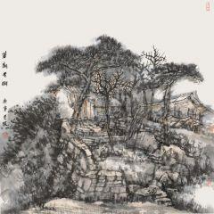 韩敬伟作品草庙老树