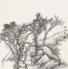 韩敬伟作品2013小品百幅之29