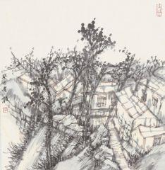 韩敬伟作品2013小品百幅之27