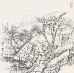 韩敬伟作品2013小品百幅之24