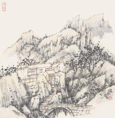 韩敬伟作品2013小品百幅之22