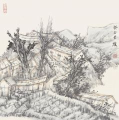 韩敬伟作品2013小品百幅之19