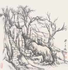 韩敬伟作品2013小品百幅之14