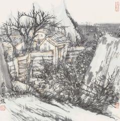 韩敬伟作品2013小品百幅之12