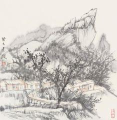 韩敬伟作品2013小品百幅之09