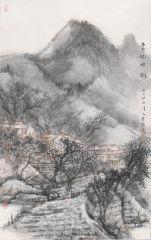 韩敬伟作品云林烟树