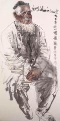 刘大为工作室作品2015甘南迭部扎尕那写生38
