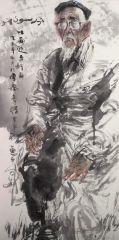 刘大为工作室作品2015甘南迭部扎尕那写生36