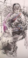 刘大为工作室作品2015甘南迭部扎尕那写生34