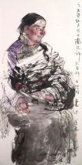 刘大为工作室作品2015甘南迭部扎尕那写生32
