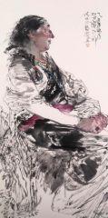 刘大为工作室作品2015甘南迭部扎尕那写生31