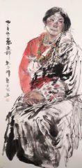 刘大为工作室作品2015甘南迭部扎尕那写生29