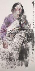 刘大为工作室作品2015甘南迭部扎尕那写生28