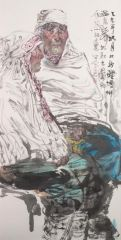 刘大为工作室作品2015甘南迭部扎尕那写生25