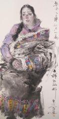刘大为工作室作品2015甘南迭部扎尕那写生24