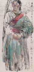 刘大为工作室作品2015甘南迭部扎尕那写生22