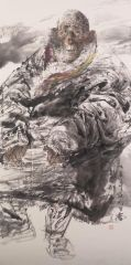 刘大为工作室作品2015甘南迭部扎尕那写生20