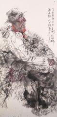 刘大为工作室作品2015甘南迭部扎尕那写生17