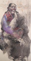 刘大为工作室作品2015甘南迭部扎尕那写生13