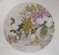 张萍作品静物与花