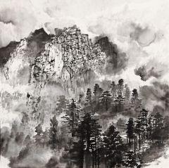 程晔作品江西武功山写生01